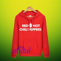 Hoodie Red Hot Chili Peppers Logo - Red