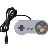 Jual Promo Gamepad Usb Ala Console Retro (Super Nintendo & Sega Genesis) Murah