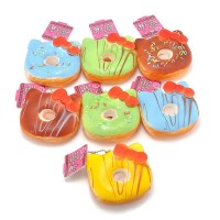 Jual SQUISHY HELLO KITTY DONUT TANPA TAG NON PACKAGING MURAH Murah