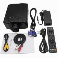 Proyektor mini HD LED 856 TV Tuner 1500 Lumens