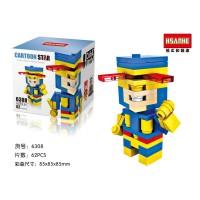 CYCLOPS (X Men Series) HSANHE 6308 Nano Block Mini Lego