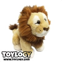 Boneka Hewan Singa ( Big Cat Lion Stuffed Plush Animal Doll ) 9 inch