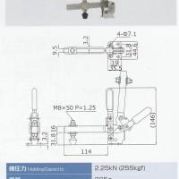 KAKUTA Toggle Clamp HV453 XL