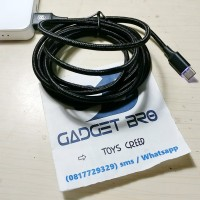 harga Baseus Led Light Type C Charger Sync Cable 2 Meter Fast Charging Tokopedia.com