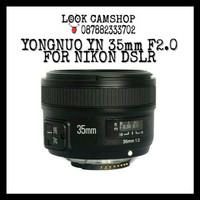 LENSA KAMERA DSLR YONGNUO / YOUNGNOU YN 35mm 35 F/2.0 FOR NIKON