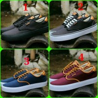 Sepatu Casual Vans Sepatu Sekolah anak Remaja Pria Wanita