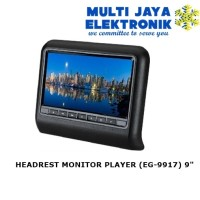 NIGMA HEADREST MONITOR PLAYER (EG-9917) 9""