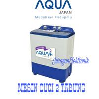 PROMO MESIN CUCI AQUA QW-770XT Kaps.7kg