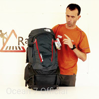 The North Face Terra 65 Black Aspalt Murah Original not deuter eiger