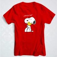 Jual Kaos Imlek Anjing Snoopy