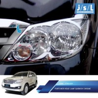 Toyota Fortuner 2008-2010 Garnish Lampu Depan | Head Lamp Garnish