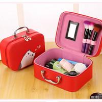 Korean Cute CAT Cosmetic Bag ( Small Size ) / Tas Kosmetik
