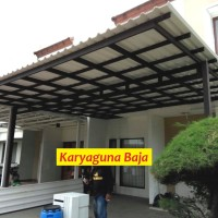 KANOPI BAJA RINGAN ATAP ALDERON&ALDERON RS-JAKARTA GARDEN CITY CAKUNG