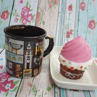 Squishy Murah Sweet Cupcake Strawberry Cream