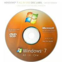 Dvd Installer Windows 7 AIO All in One Komputer/laptop