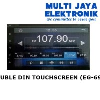 NIGMA DOUBLE DIN TOUCHSCREEN  (EG-6958)