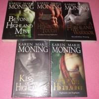 Highlander series Karen Marie Moning SUPER