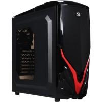 (Murah) RAIDMAX Viper II ATX-A07WBR Black Red Steel / Plastic ATX