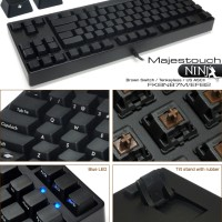 (Diskon) FILCO Majestouch Ninja BlueSwitch Tenkeyless US ASCII