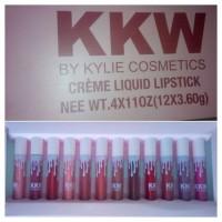 Jamin murah - [ 1 box isi 12 pc ] KKW kylie liquid matte lipstick