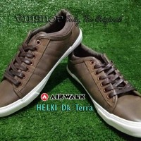 #Sneakers Sepatu AIRWALK HELKI, Dark Terra AIW16PVM1083