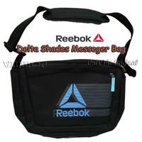 Tas Tas REEBOK DELTA SHADES MESSENGER BAG, Black/Sky BlueMB721A