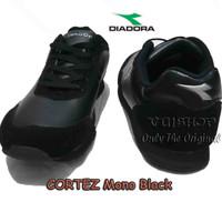 #Sepatu Olahraga Sepatu DIADORA CORTEZ, Mono Black DIAX7F0304MB