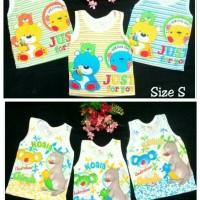 Singlet / Kaos Dalam Baby / Bayi Putih Gambar