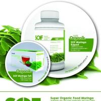 SOF (Super Organic Food) Kapsul Daun Kelor/Moringa Organik
