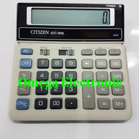 ORIGINAL Citizen Calculator SDC-868L - Kalkulator Desktop Meja Kantor