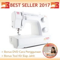 Mesin Jahit BUTTERFLY JH 8530 A / JH8530A ( Multifungsi & Portable )