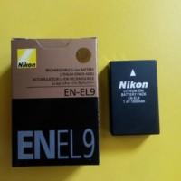 Baterai nikon EN-EL9 / EN-EL9a for D40 D60 D40X D5000