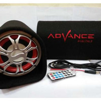 Speaker Aktif Mobil Subwoofer Advance Bluetooth T101 BT