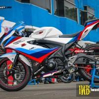Decal stiker GSX-R150 BMW Safety GP Fullbody V1