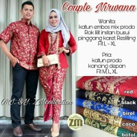 Batik Couple Kebaya / Sarimbit Nirwana Prada