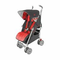 Maclaren Techno XLR Stroller Charcoal/Scarlet
