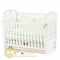 Ranjang Bayi dengan Laci, Box Bayi Minimalis, Tempat Tidur Bayi Murah