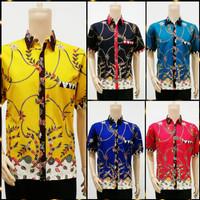 Hem Naura & Adelia Madura PD | Baju Batik Pria kemeja Grosir Murah