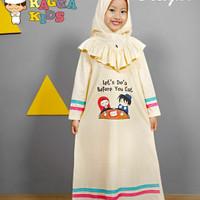 (2-9 tahun) Gamis Kaos Anak Raggakids RG 14 New Design Lets Doa