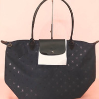 Tas Long Champ Original / Longchamp Planetes Navy LLH Large Long