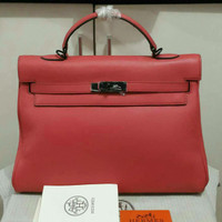 Tas handbag HERMES KELLY hk35 swift original Leather LIMITED HARDWARE