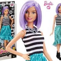 barbie fashionista/original/mattel/purple hair