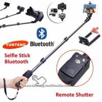 tongsis yunteng bluetooth 1288 remote untuk android hp camera
