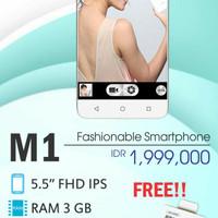 HP SHARP M1 RAM 3GB/64GB - FREE SCREEN PROTECTOR-SIMPATI 30GB