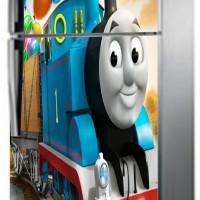stiker kulkas 2 pintu Thomas