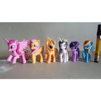 Sale Mainan action figure  My little pony Full artikulasi Tinggi 3-4in