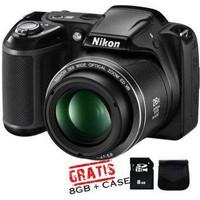 kamera nikon coolpix L330 (FREE MEMORY 8GB DAN TAS)