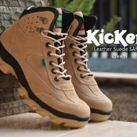 Sepatu Big Size 44 48 Boots Safety Pria Ujung Besi Kulit Asli Premium 268aeabe60