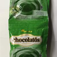 Chocolatos Chocolate Drink Matcha Latte 1 Renceng 10 Sachet Pcs Hijau
