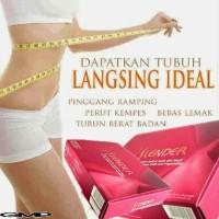 SLENDER Slimming & Detox Pelangsing Tubuh Alami